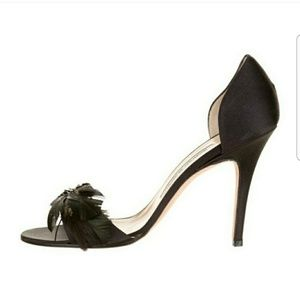 Manolo Blahnik Shoes - Manolo blahnik Peacock feather heels